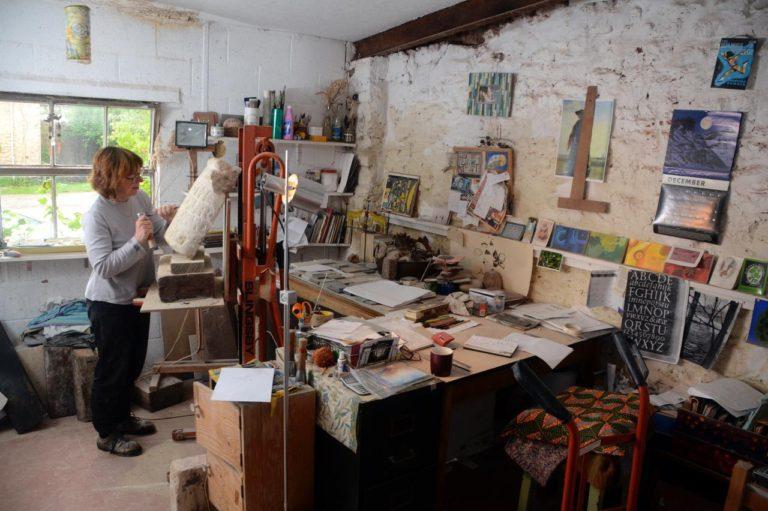 Rachel Gundry Artist Studio