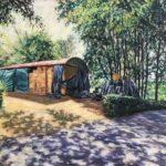 Blackberry Barn, Tilly Willis, oil