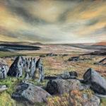 Golden Hour on Dartmoor by Alexandra Lavizzari