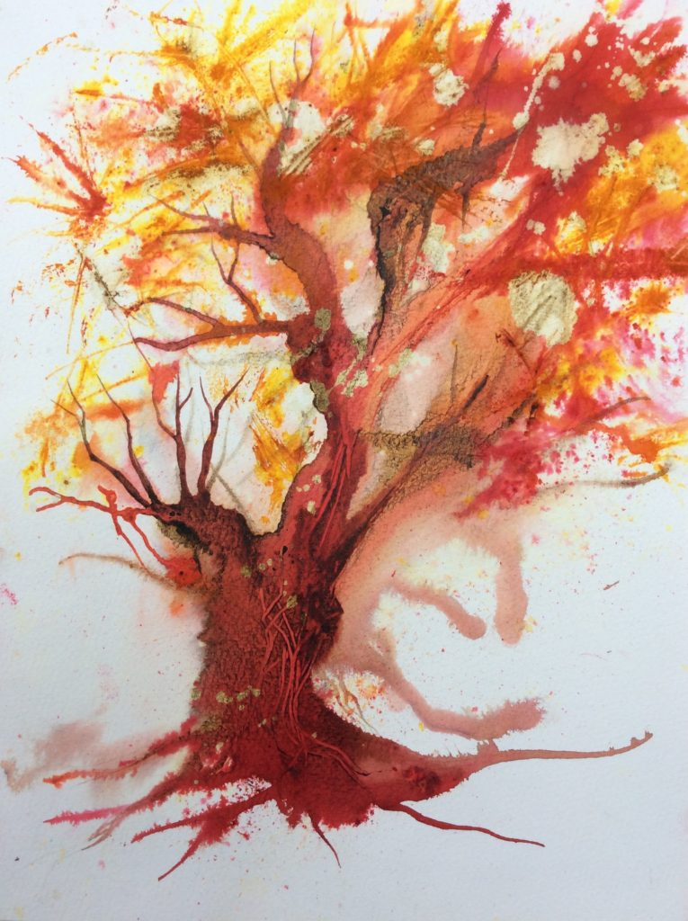 Watercolour by Jos Harral