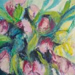 Hellebores herald spring by Annie Musgrove