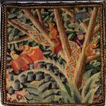 Textile restored by Susan Lady Lethbridge