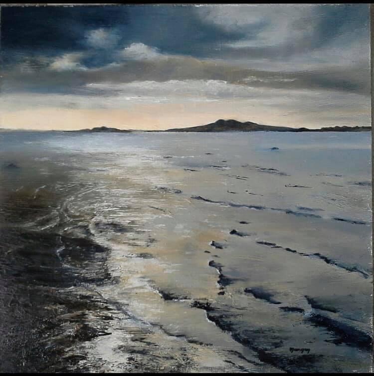 Silver Sea by Dawn Managan
