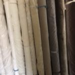 A selection of fabrics